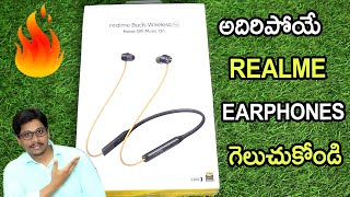 REALME BUDS WIRELESS PRO Unboxing and REVIEW Telugu