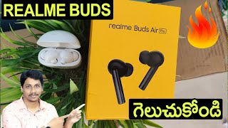 Realme Buds Air Pro Unboxing Telugu