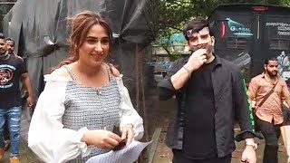 Mahira Sharma And Paras Chhabra SPOTTED Shooting For NEW Song
