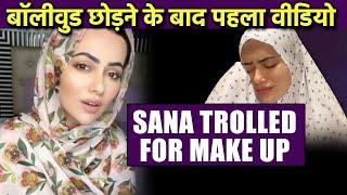 Bollywood Chodne Ke Baad Sana Khan Ka Pehla Video, Hui Jamkar Troll