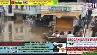 HYDERABAD MILITARY DOING RESCUE OPERATION IN CHANDRANGUTTA   AT ALJUBAILCOLONY HYDERABAD