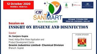 CII - SANIMART: Insight on Hygiene and Disinfection