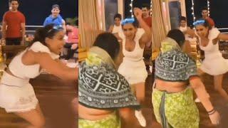Maid Ke Sath Jamkar Nachi Nia Sharma, Zingaat Dance, Video Hua Viral