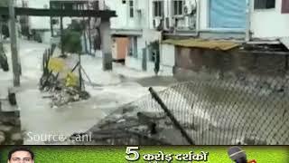 तेलंगाना: हैदराबाद में भारी बारिश से बिगड़े हालात, हर तरफ पानी ही पानी