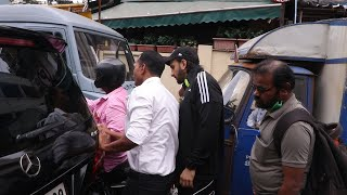 Ranveer Singh Ke Car Se Takraiye Bike, Bich Raste Me Car Se Bahar Aaye Ranveer