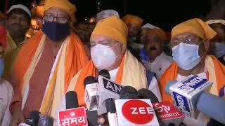 BJP National President Shri JP Nadda pays obeisance at Patna Sahib Gurudwara in Patna, Bihar.
