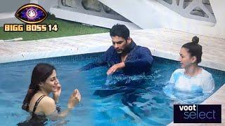 Swimming Pool Me Utari Nikki Tamboli And Rahul Vaidya | Bigg Boss 14 Voot Live Stream Update