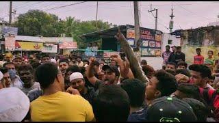 Aimim Abdul Wahab Murdabad Ke Naaray Lagay Barkas Old City Mein |@Sach News