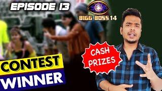 Bigg Boss 14 Episode 13 CONTEST WINNER | WIN Cash Prize Daily | BB 14