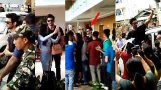 Sushant Singh Surrounded By His FANS At Manipur Hotel. Fans Went Crazy. He Loved His Fans So Much