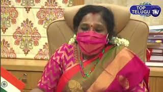 తెలంగాణ ఆడపడుచులందరికి బతుకమ్మ శుభాకాంక్షలు తెలిపిన Telangana Governor Tamilisai Soundararajan
