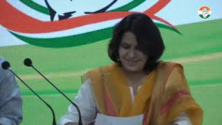 LIVE: Congress Party Media Briefing by Supriya Shrinate at Congress Headquarters