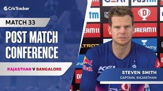 Steve Smith speaks about Rajasthan's loss; Jaydev Unadkat's penultimate over