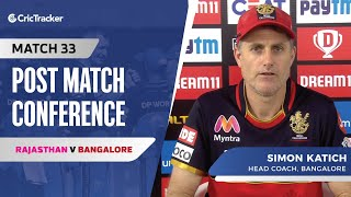 Simon Katich speaks about Bangalore's win; AB de Villiers' special innings