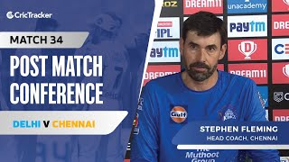 Stephen Fleming speaks about Chennai's loss and what went wrong for them