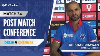 Shikhar Dhawan speaks about Delhi's win; His recent performances