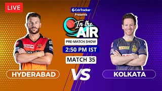 Hyderabad v Kolkata - Pre-Match Show - In the Air - Indian T20 League Match 35