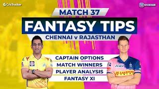 Chennai v Rajasthan Team Prediction,11Wickets Fantasy Cricket Tips, Indian T20 League,11Wickets Tips