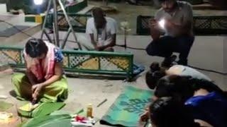 অভিনেত্ৰী প্ৰস্তুতি পৰাশৰৰ ঘৰত কাতি বিহু উদযাপন
