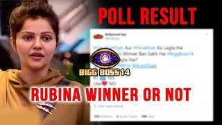 Bigg Boss 14: Rubina Dilaik Winner Or Not, Twitter Poll Result | BB14