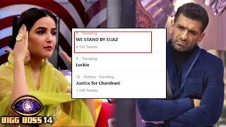 Bigg Boss 14: Jasmin Bhasin Mamle Me Eijaz Khan Ke Support Me Aaye Fans | We Stand By Eijaz Trend