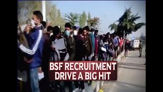 J&K: Thousands of Kashmiri students flock to join BSF recruitment in Valley
