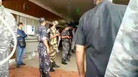 जेपी नड्डा के आगमन में भाजपा कार्यकर्ताओं में खुशी