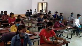 अमेठीः कोरोना महामारी के चलते बंद हुए स्कूलों में पढ़ाई फिर से हुई शुरू