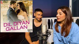 Dil Diyan Gallan Cover Song | Reaction | Shehnaaz Gill | Arjun Kanungo