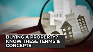 If you are a prospective homebuyer you must know these jargons