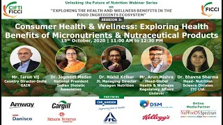 Consumer Health & Wellness: Exploring health benefits of micronutrients and nutraceutical products