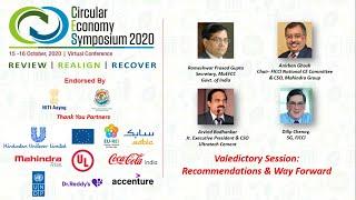 Circular Economy Symposium 2020- Valedictory Session