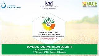 CII Agro & Food Tech 2020: Kisan Goshthi on New entrepreneurship opportunities in Apple value chain