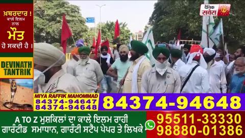Breaking: Jalandhar पहुंचे Vijay Sampla का किसानों ने किया विरोध
