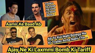 Aamir Khan Ke Baad Ab Ajay Devgn Ne Ki Laxmmi B@mb Trailer Ki Tariff,Trollers Ko Koi Ye Video Dikhao
