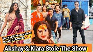Akshay Kumar, Kiara Advani And Laxmi Narayan Tripathi Stole The Kapil Sharma Show