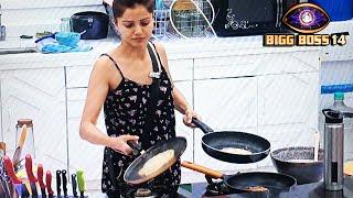 Bigg Boss 14: Rubina Hai Season Ki Kitchen Queen, Ek sath 3 Pan Par Banaye Dosa