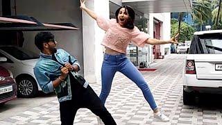 Nora Fatehi Aur Guru Randhawa Ne Jamkar Kiya Media Ke Sath Dance