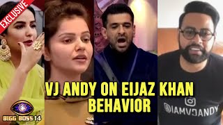Bigg Boss 14: VJ Andy Reaction On Eijaz Khan Vs Rubina & Jasmin | Exclusive Interview