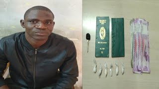 Nigerian Arrested For Drugs Smuggling In Hyderabad |@Sach News