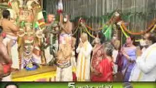 Tirumala : Grandeur marks Garuda Seva at Tirumala