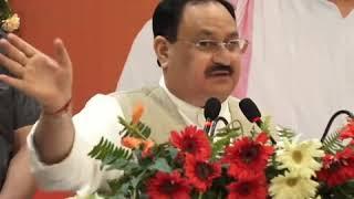 अप्रैल में भाजपा की सरकार लाइए, एक महीने में हम आपको किसान सम्मान निधि लेकर देंगे: श्री जे पी नड्डा