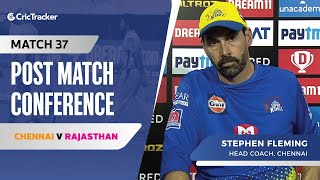 Stephen Fleming speaks about Chennai's loss; What went wrong for them