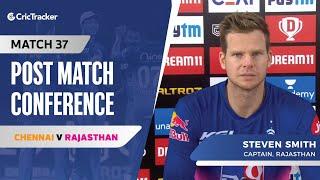 Steve Smith speaks about Rajasthan's win; Sanju Samson's inconsistency