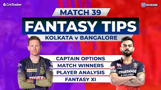 Kolkata v Bangalore Team Prediction,11Wickets Fantasy Cricket Tips,Indian T20 League,11Wickets Tips