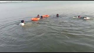 अकोला - धरण तैरने गए युवक की डूबने से मौत, रेस्क्यू कर शव को निकाला गया बाहर