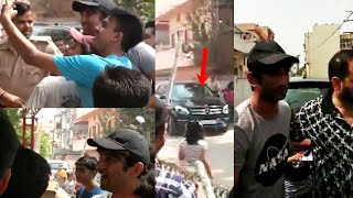 Sushant Singh Visited His Patna Home In Rajeev Nagar Fans Surrounded Him Near His house Unseen Video