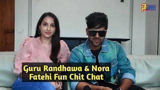 Guru Randhawa & Nora Fatehi Exclusive Chit Chat - Naach Meri Rani Song