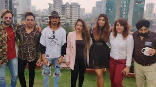 Raata Nu Song Launch - Tiktok Star Adnan Team 07, Dagangana Suryavanshi, Krishma Shetty & Abhishek