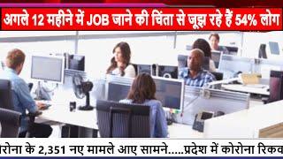 अगले 12 महीने में JOB जाने की चिंता से जूझ रहे हैं 54% लोग
